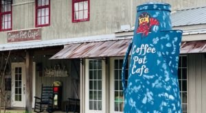 A Quirky Restaurant In Small Town Mississippi, Coffee Pot Cafe Is A Hidden Gem Worth Seeking Out