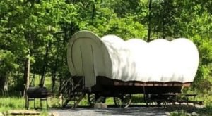 There's A Covered Wagon Campground In Pennsylvania And It's A Unique Overnight Adventure