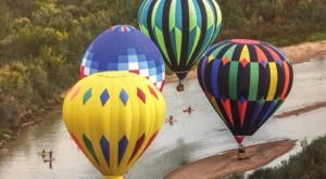Things Will Be Looking Up At The Petit Jean Balloon Event In Arkansas