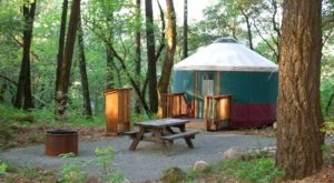 There's Nothing Like An Overnight Stay In A Yurt At Bothe-Napa Valley State Park In Northern California
