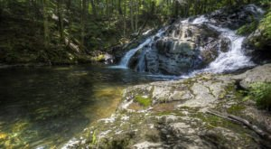 Complete With A Lovely Cascade, Riga Falls Is A Little-Known Connecticut Swimming Hole You'll Love