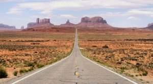 Roll The Windows Down And Take A Drive Down Kayenta-Monument Valley Scenic Road In Arizona