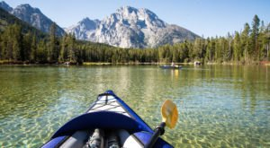 Canoe, Kayak, And Tube Your Way Through These 9 Wyoming Waterways