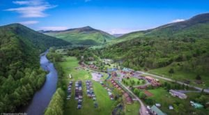 Visit Smoke Hole Resort, The Massive Family Campground In West Virginia That's The Size Of A Small Town