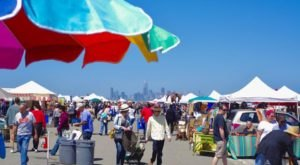 The Biggest And Best Flea Market In Northern California, Alameda Point Antiques Faire Is Now Re-Opening