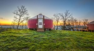 Spend The Night At This Expansive, Modern Yurt In Rising Fawn, Georgia
