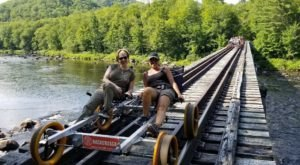 Go For A Socially Distant Ride Through The Adirondack Mountains With Revolution Rail