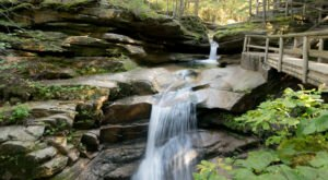 New Hampshire's Scenic Waterfall Loop Will Take You To 9 Different Waterfalls