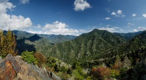 Some Of The Best Views In Tennessee Can Be Enjoyed From High Atop Mount Le Conte