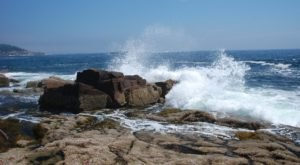 Thunder Hole In Acadia National Park, Is One Of Maine's Most Fascinating Natural Wonders