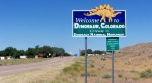 Roll The Windows Down And Take A Drive Down The Dinosaur Diamond In Colorado