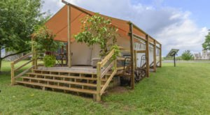 Camp In Luxury While Overlooking Horse Country And The Kentucky Castle