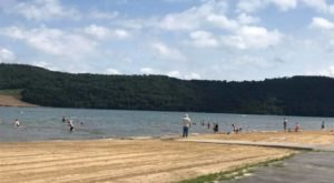 Some Of The Cleanest And Clearest Water Can Be Found At Pennsylvania's Curwensville Lake