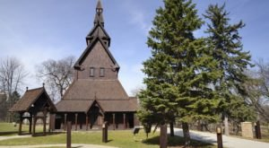 Feel Like You're Overseas When You Visit The The Hopperstad Church, A Replica Of A Norwegian Church In Minnesota