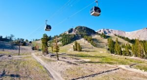 The Scenic Gondola Ride In Northern California That Takes You To One Of Our State's Natural Wonders