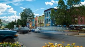 Elk Avenue May Just Be The Most Colorful Street In Colorado