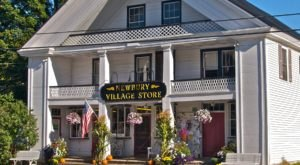 Pop By The Historic Newbury Village Store For A Cozy Scene And A Fabulous Deli