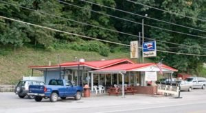 Eat Like A Local When You Order The Legendary Al Burger Combo At Burger Carte In West Virginia