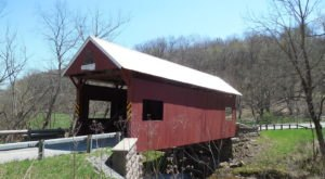 The Oldest Covered Bridge Near Pittsburgh Has Been Around Since 1845