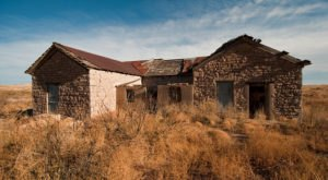 Most People Have Long Forgotten About This Vacant Ghost Town In Rural New Mexico