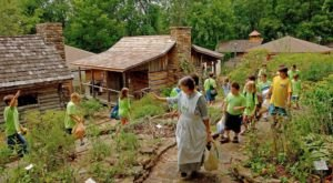 Feel Like You're At A Gigantic Pioneer Festival When You Explore The Ozark Folk Center In Arkansas