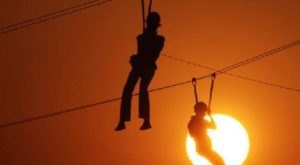 Fly Through A Forest Canopy In The Moonlight With Adventure Ziplines Of Branson In Missouri