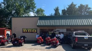 It's Hard To Beat The Smokin' Eats At The Small Town Big Poppa's BBQ In Arkansas