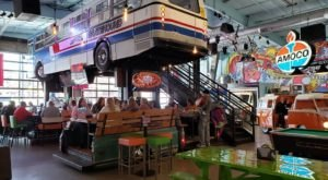 Fill Up On Tasty Grub In An Atmosphere That Defies The Ordinary At Grateful Shed Truckyard In Wisconsin