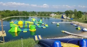 Fondy Aqua Park Is A Floating Waterpark In Wisconsin That's Fun For The Whole Family