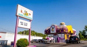 The Purple Cow In Rural Tennessee Is One Of The State's True Drive-Thru Icons