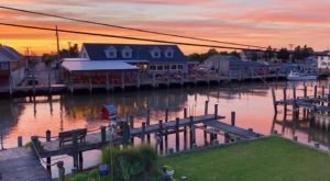 JP's Wharf In Delaware Is Famous For Their Fresh Strawberry Pie