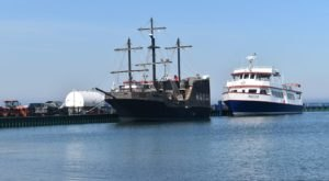 Michiganders Can Sail On A Pirate Ship Through The Straits Of Mackinac This Summer