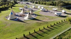 There's A Covered Wagon And Teepee Campground In Oklahoma And It's A Unique Overnight Adventure