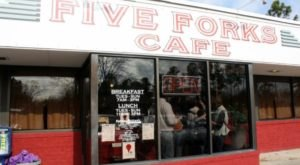 Load Up Your Plate With Your Favorite Breakfast Foods At Five Forks Cafe In Williamsburg, Virginia