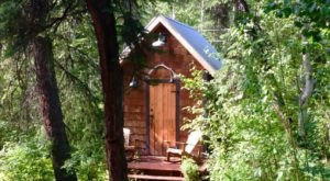 This Summer, Take A Retreat To This Alaskan Fairy Tale Cabin In The Woods