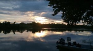 Relax With A Weekend Of Boating, Fishing, And Watching The Sunset At Wilson State Fishing Lake In Kansas