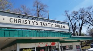 You've Got To Try The Amazingly Oversized Tenderloin Sandwich At Christy's Tasty Queen In Kansas