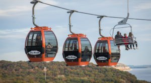 The Scenic Skylift In Illinois That Takes You To One Of Our State's Natural Wonders