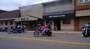 Bar 13 In Indiana Is A Traditional Local Small-Town Watering Hole