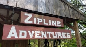 The Zipline Adventures At Squire Boone Caverns Is Indiana's Best Aerial Adventure