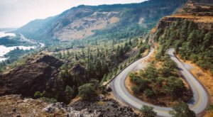 Enjoy Sweeping Vistas And See One Of Oregon's Most Photographed Roads At The Rowena Crest Viewpoint