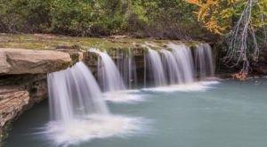 Plan A Visit To Albert Falls, West Virginia's Beautifully Blue Waterfall