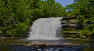 This Easy Trail Leads To Pixley Falls, One Of New York's Most Underrated Waterfalls