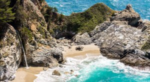 Plan A Visit To McWay Falls, Northern California's Beautifully Blue Waterfall