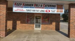 Kozy Korner Deli In Illinois Has Its Own Signature Gourmet Foot-long Turkey Sandwich