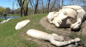 Virtually Explore All 16 Creations Within The International Sculpture Park At The Chicago Athenaeum In Illinois