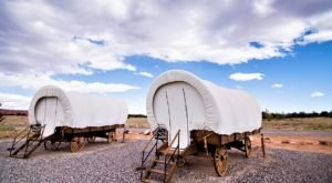 There's A Covered Wagon Campground In Utah And It's A Unique Overnight Adventure