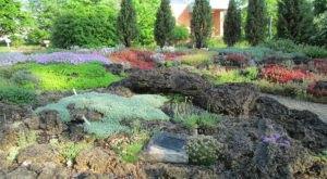 The Marie Azary Rock Garden At Matthaei Botanical Gardens Near Detroit Is A Work Of Art