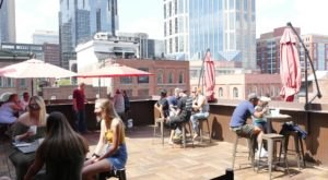 Get Some Great Food And Fresh Air At One Of These 7 Rooftops And Patios Open Now In Nashville