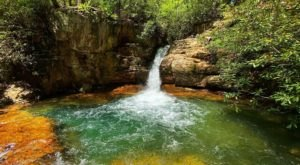 Plan A Visit To Blue Hole Falls, Tennessee's Beautifully Blue Waterfall